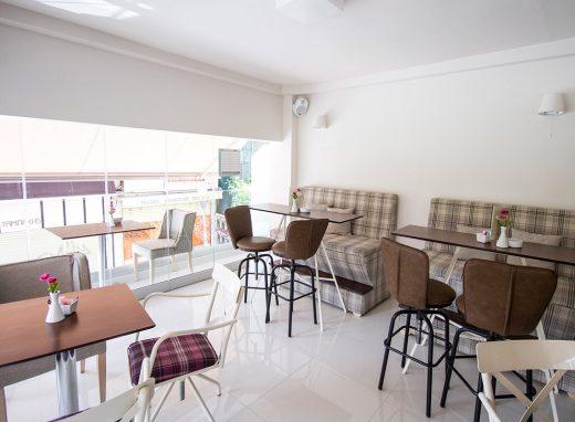Ανακαίνιση Cafe στο Ξενοδοχείο Λητώ στο Αγρίνιο