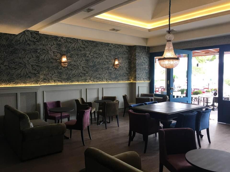 Ανακαίνιση Cafe Lenotre στην Αμφιλοχία