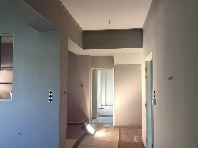 Ανακαίνιση κατοικίας στο Παναιτώλιο Αγρινίου
