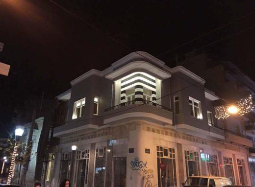 Κατασκευή γραφείων τεχνικής εταιρείας στο Αγρίνιο