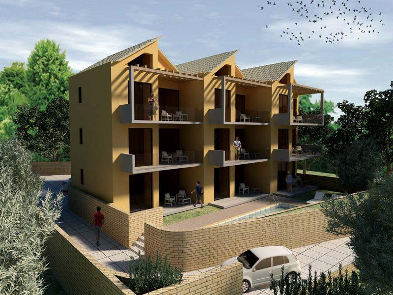 Συγκρότημα κατοικιών στην Νικιάνα Λευκάδας