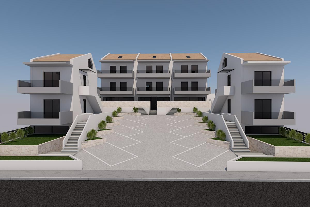 Συγκρότημα κατοικιών στο Περιγιάλι Λευκάδας