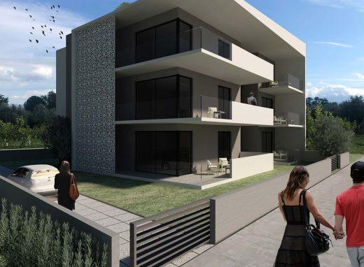Συγκρότημα κατοικιών στο κέντρο της Λευκάδας